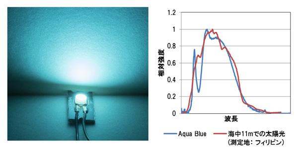 アクアブルー(Aqua Blue)の特徴